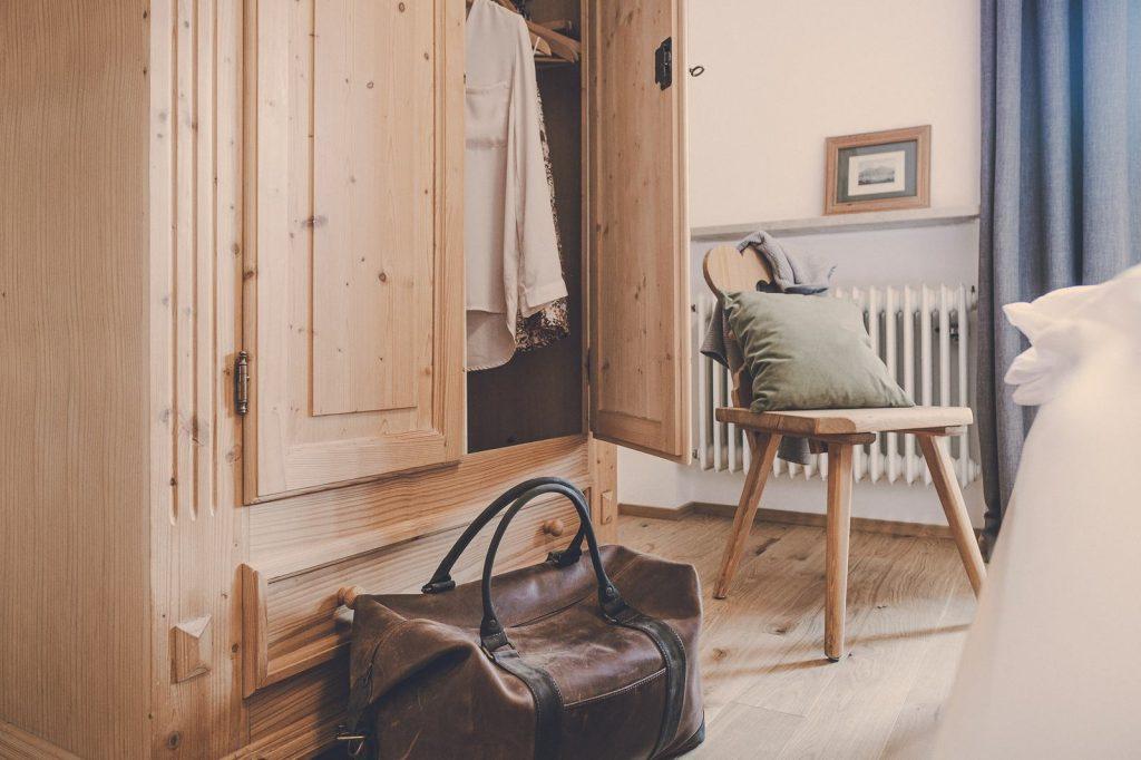 Der Lederer Hof Tegernsee - Schrank im 2-Zimmer-Apartment