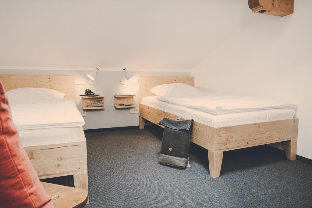Der Lederer Hof Tegernsee - kleines Schlafzimmer im Platzhirsch