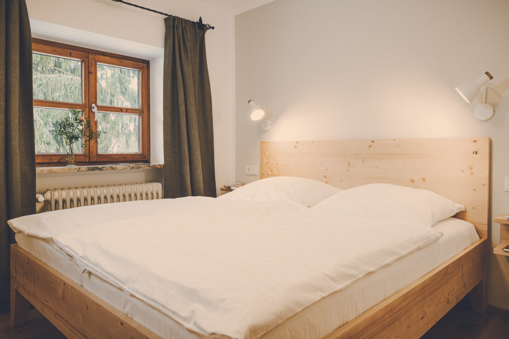 Der Lederer Hof Tegernsee - Schlafzimmer im Hochsitz