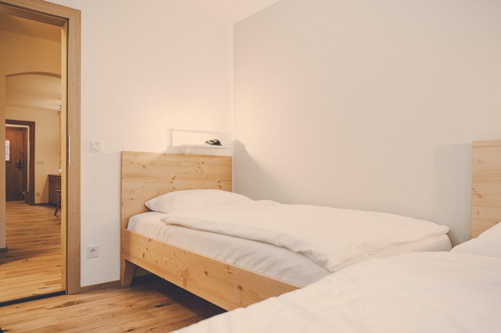Der Lederer Hof Tegernsee - Zweites Schlafzimmer im Hochsitz