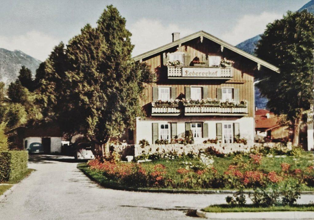 Der Lederer Hof Tegernsee - Altes Bild aus früheren Jahren