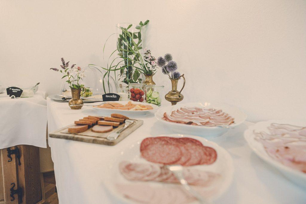 Der Lederer Hof Tegernsee - Impression vom Frühstücksbuffet