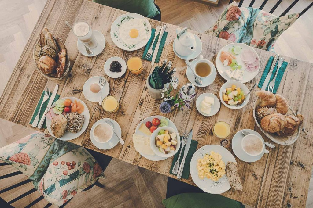 Der Lederer Hof Tegernsee - Frühstück